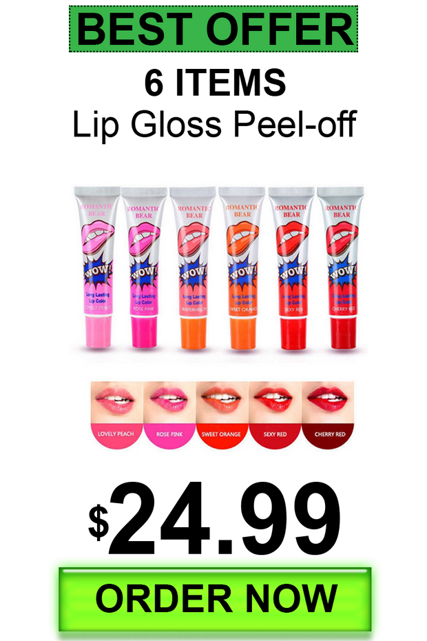 Tattoo Magic Color Peel Off Lip Gloss Mask Tint Long Lasting Waterproof Makeup