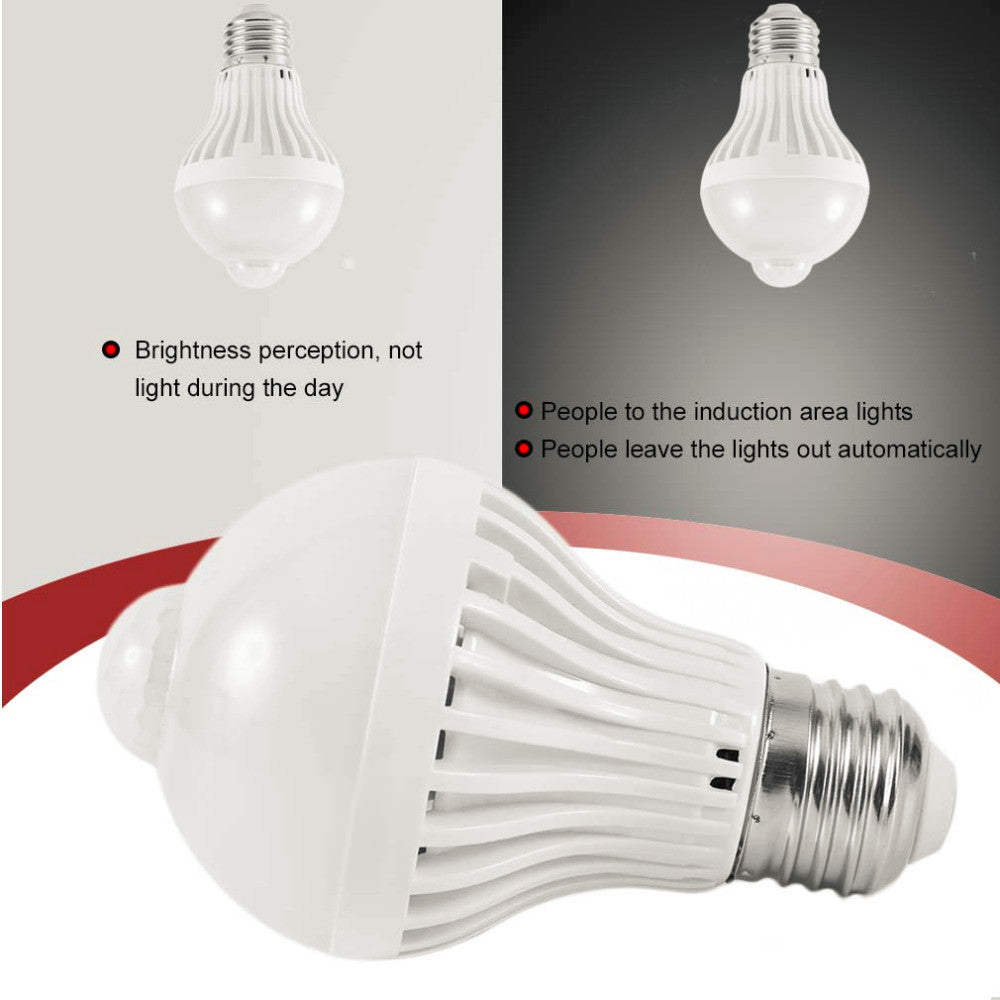 LED Motion Sensor Lamp Bulb
