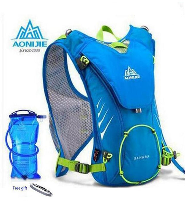 Outdoor Sports Lightweight Running 8L Backpack Bag With+ 1.5L Hydration