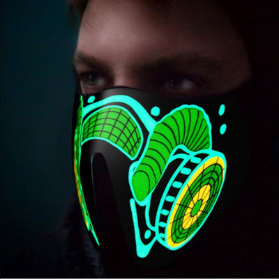 TRON LED Mask