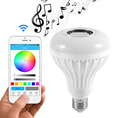 Smart LED Wireless Bluetooth Speaker