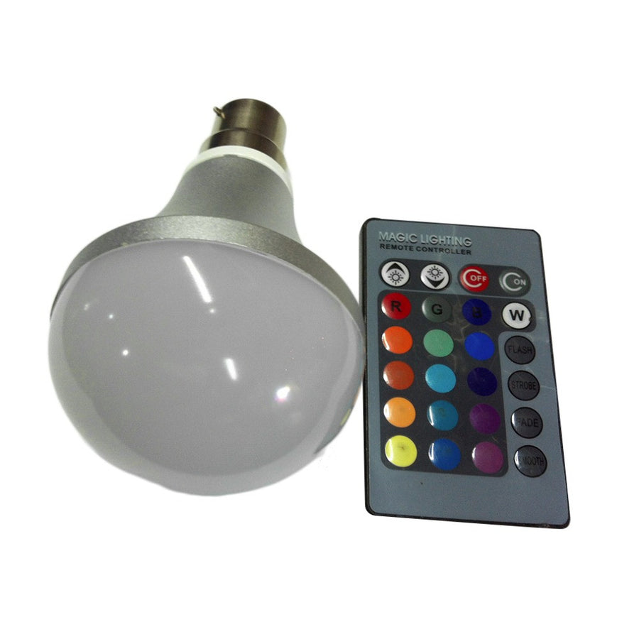Light Bulb  Multi-colors Color Changing IR Remote Control