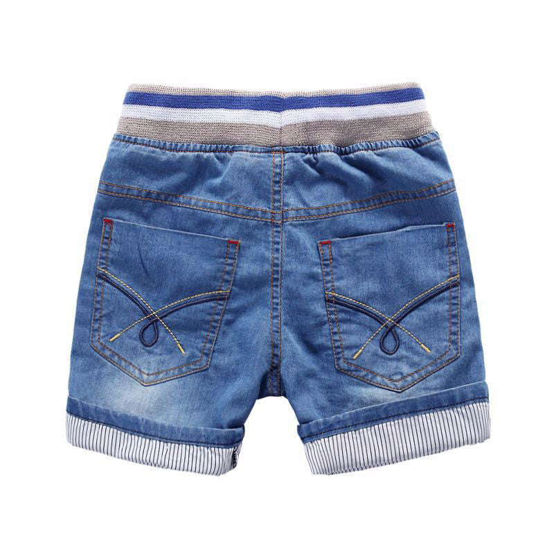 Summer 2-7yrs Baby Boys Girls Denim Shorts