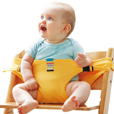 Infant Chair Portable Seat Safety Belt Stretch Wrap