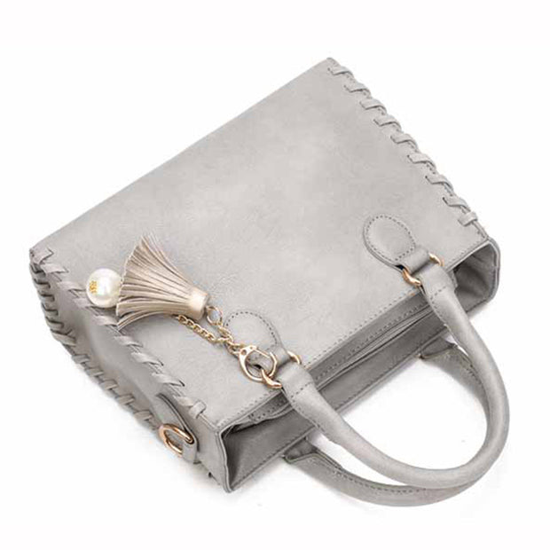 Shoulder Bags Matte Leather Fashion Bag Brand