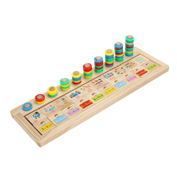 Math Toys For Kids : Montessori educational toys for kids learning match game