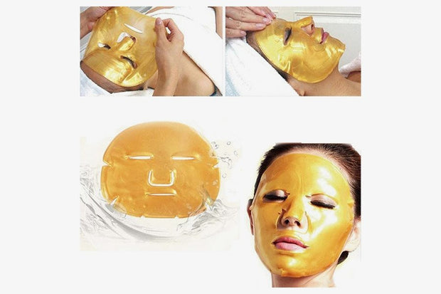 Premium Gold Bio Collagen Crystal Face Mask