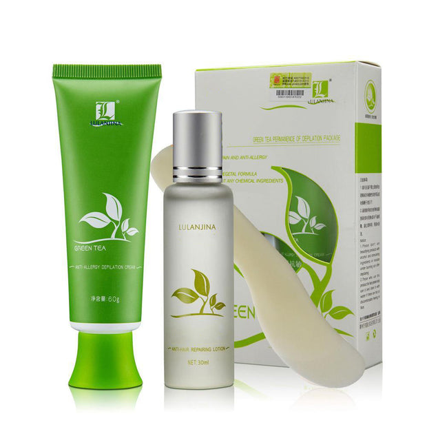 100% Green Tea Hair Inhibitor Cream