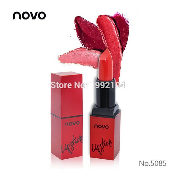 13 Colors Beauty Makeup NOVO Brand Waterproof Matte Velvet Lipstick Long Lasting Colour Lip Gloss
