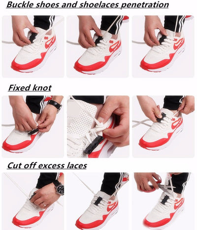 Magnetic laces Buckles No-Tie
