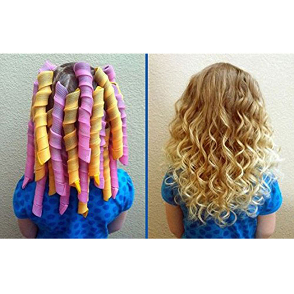 Magic Curl Diy Hair Curlers