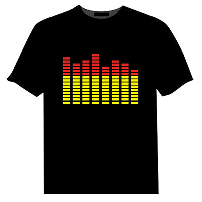 Sound Activated LED T Shirt Light
