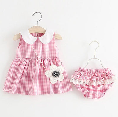 Summer Baby Girls Clothes Sets