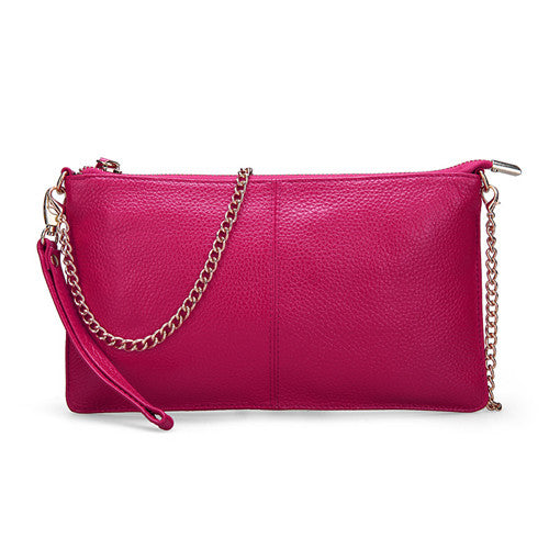 Genuine Leather Women's Bag High Quality Clutch