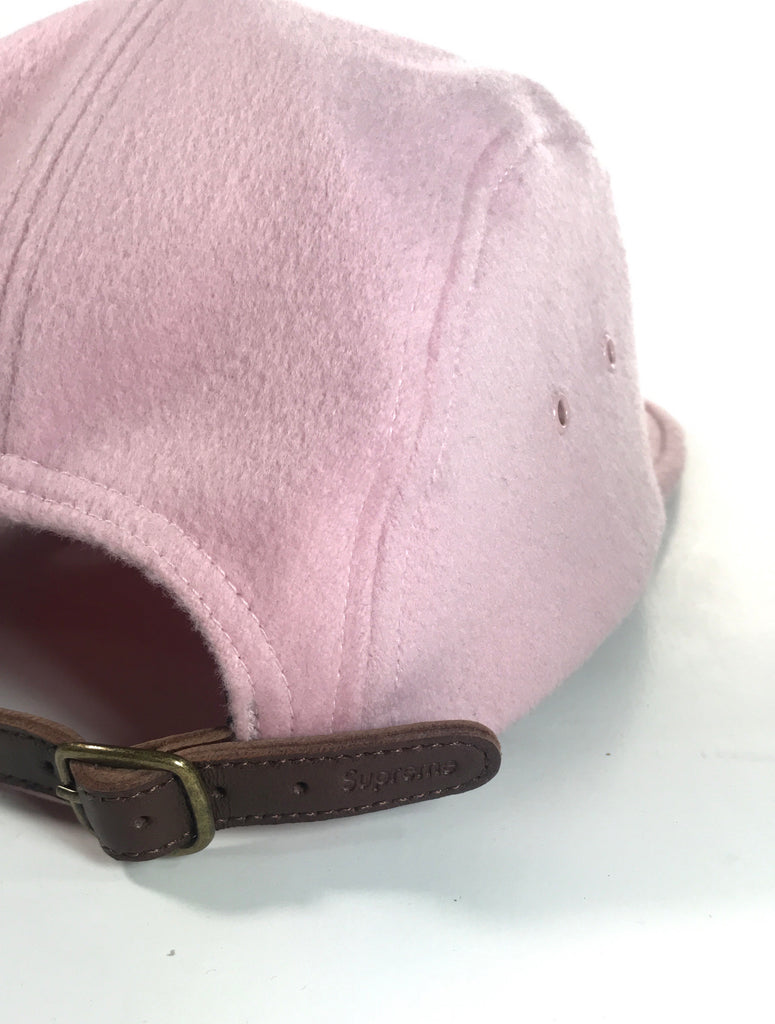 3743d134cdf Supreme Pink Italian Wool Camp Cap – Reflective Mountain