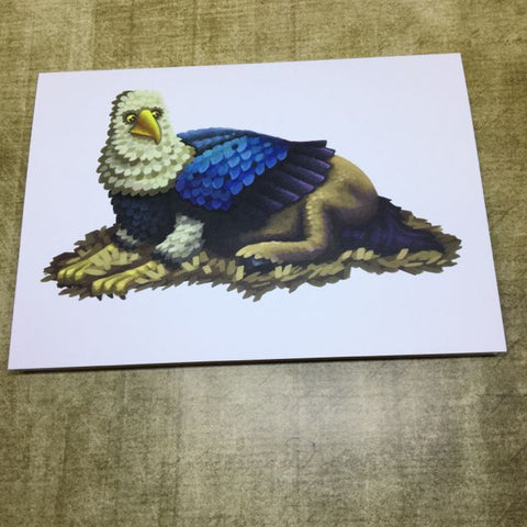 Hippogriff Blank Greeting Card