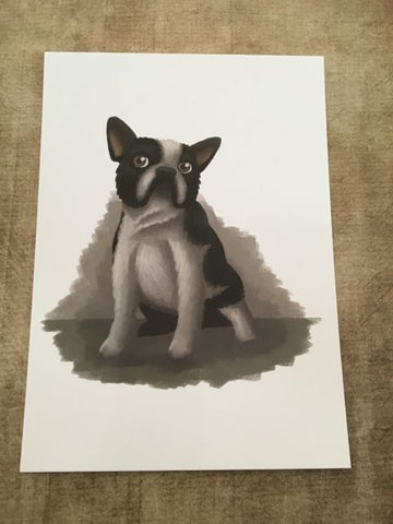 Dogs: French Bulldog  Post Card