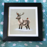 Reindeer & Robins Limited Edition Art Print
