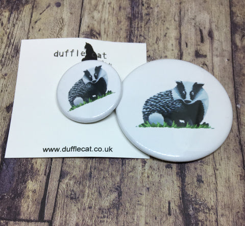 Badger Mini Badge & Magnet Set