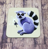 Set of 4 Lemur Coasters