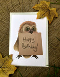 6 Animal Happy Birthday Greeting Cards