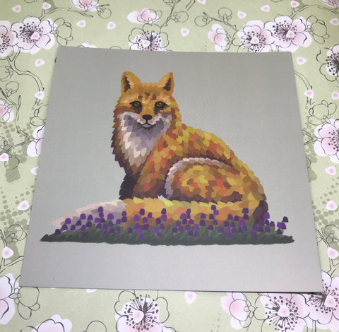 Fox Square Post Card