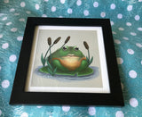 Bull Frog Limited Edition Art Print