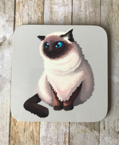 Himalayan Cat Coaster