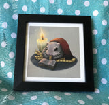 Winter Mouse/Hamster Limited Edition Art Print