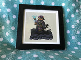 Fantasy Animals: Cat Sorceress Limited Edition Art Print