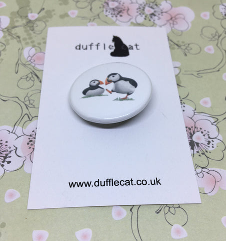 Puffins Mini Badge