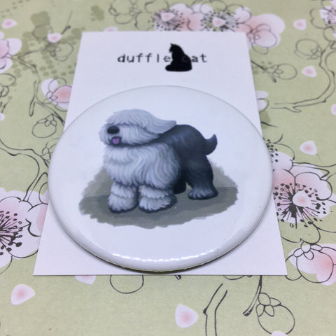 Dogs: English Sheepdog Magnet