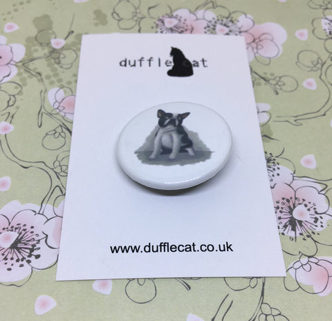 Dogs: French Bulldog Mini Badge