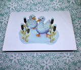 Ducks Blank Greeting Card