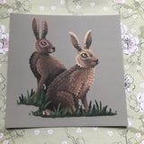 Hares Square Post Card