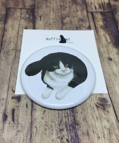 Cats: Black and White Cat Magnet