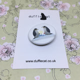 Love Penguins Mini Badge & Magnet Set