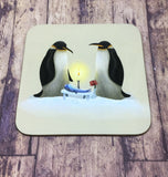 Set of 4 Penguins Coasters