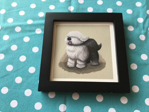 Dogs: English Sheepdog Limited Edition Art Print