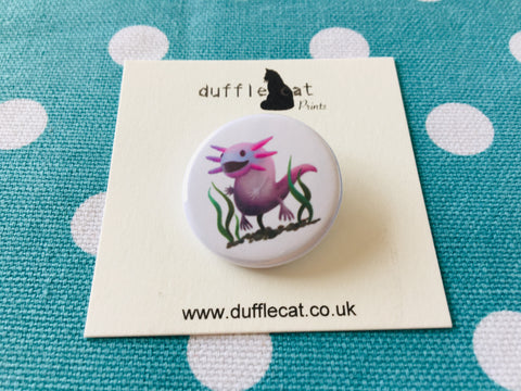 Axolotl Mini Badge