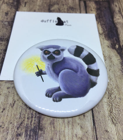 Lemur pocket mirror