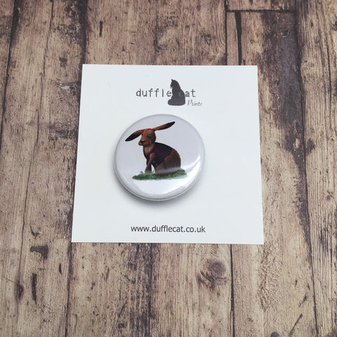 March Hare Mini Badge