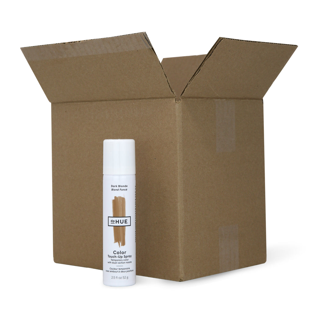Color Touch-Up Spray Dark Blonde Case Pack