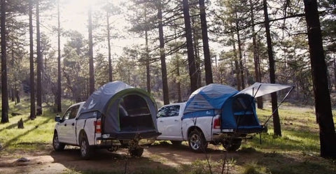 Discover the joy of camping with a Napier Truck Tent.