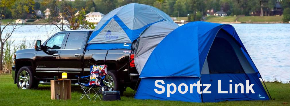 Napier Sportz Link Attaches to Sportz Truck Tents