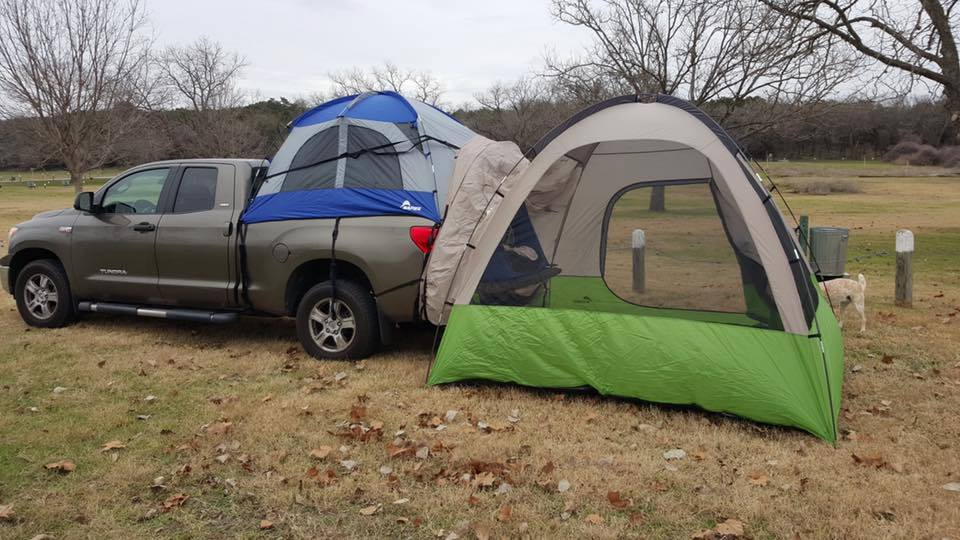 57000 truck tent with a 13100 backroadz suv tent
