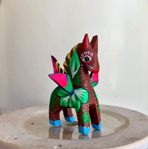Brown Horse Alebrije - Small