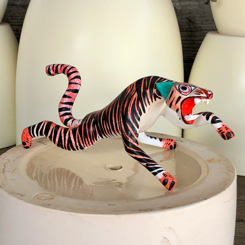 Attacking Tiger Alebrije - Medium