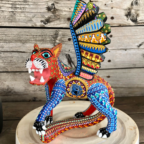 Wild Cat Spirit Animal Alebrije - XLarge