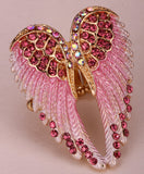 Angel wings stretch Ring - Pretty Little Owls